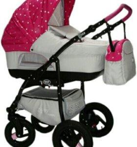 Детская коляска 3 в1 zippy