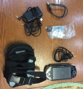 Сумка и провода для PSP
