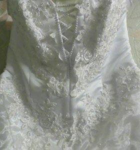 Платье свадебное. Большой размер