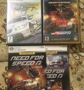 Диски с игрой «Need For Speed»