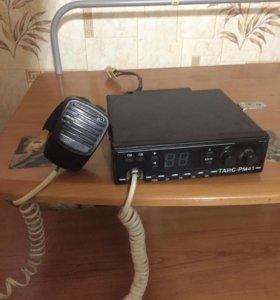 Рация с антенной