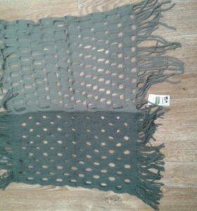 Новый с этикеткой шарф-хомут снуд