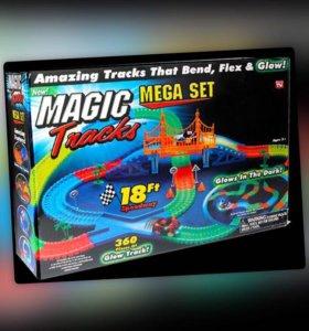 Magic Tracks гибкая трасса на 220 и 360 деталей от