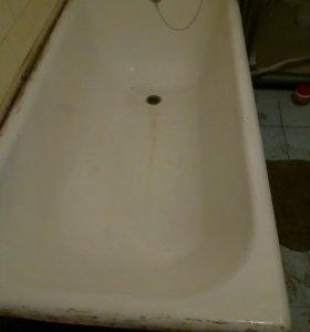 Продам чугунную ванну 1500 б/у