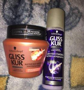 Маска и спрей для волос