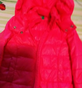 Курточка на девочку 1.5 года