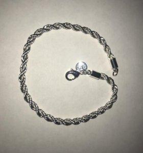 Серебрёный браслет