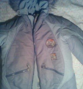 Курточка на мальчика 6-7лет