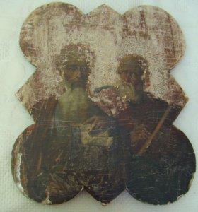 Икона Два Святых. Необычная