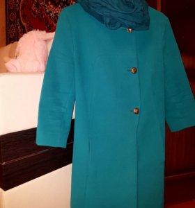 Пальто кашимировое