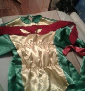 Новогодний костюм черепашка нинзя