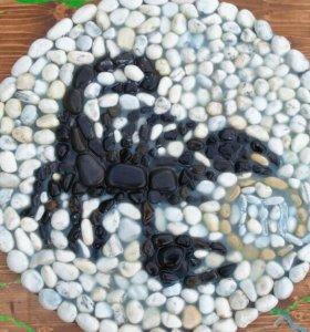 Декоративное панно Скорпион