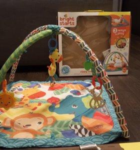 Развивающий коврик Bright starts + жирафик Софи