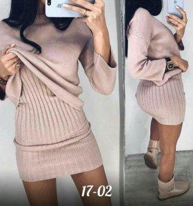 Платье 2-ка/ новое платье/ вечернее платье