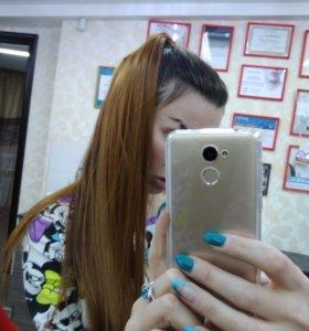 Хвост Волосы