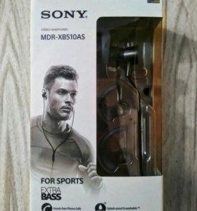 Наушники 🎧 Sony MDR-XB510AS