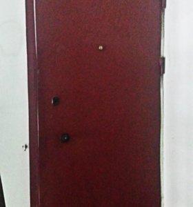 Дверь металлическая + коробка