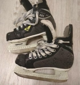 Коньки Хоккейные Graf101, р 30