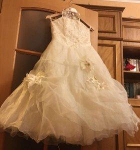 Вечернее платье подростковое