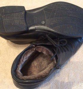 Ботинки кожаные «Юничел»