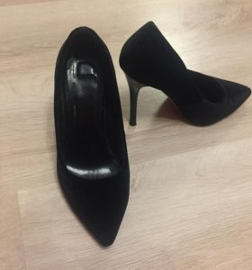 Туфли чёрные лодочки