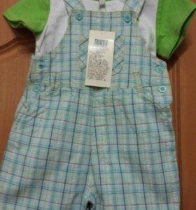 Новый комплект на малыша р.80-86
