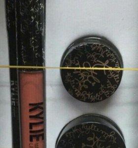 Пудра тройная,наборКайли,тон.крем цены от 100 р.