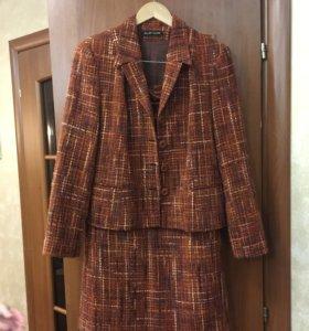 Костюм двойка, юбка+пиджак