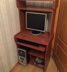 Стационарный компьютер + компьютерный стол