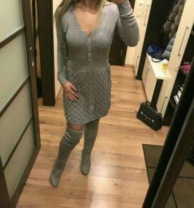 Платье трикотажное, новое с бирками