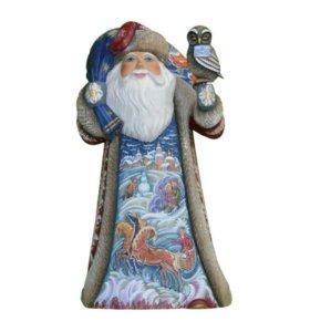 Дед Мороз с филином
