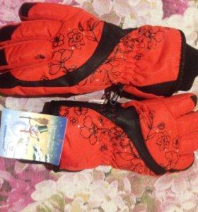 перчатки 6-8 лет