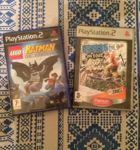 2 диска для PlayStation 2.
