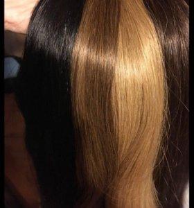 Наращивание волос(Итальянское горячие)