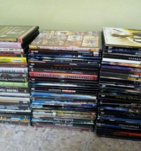 DVD диски (85 шт)