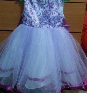 Новое праздничное платье.