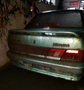 Задняя крышка багажника и бампер на 2115