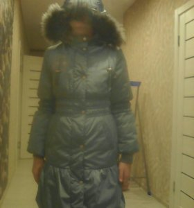 Пуховик- пальто