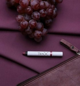 Матовая помада TenX цвет Виноград
