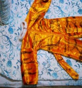 Костюм тигра на 5-6 лет