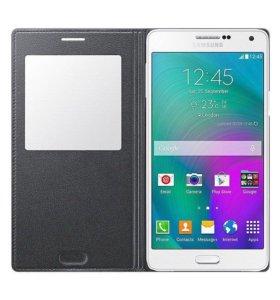 Чехол книжка Samsung Galaxy A7 S View