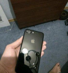 iPhone 7plus 128g jet black