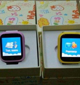 Детские часы с GPS!!!