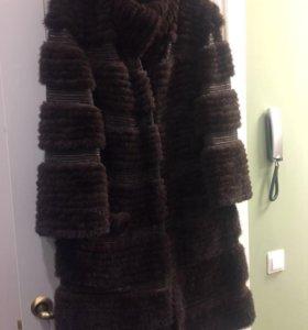Норковое пальто Fellicci