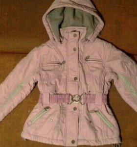 Куртка и брюки (костюм) для девочки