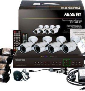 Комплект видеонаблюдения с жёстким диском