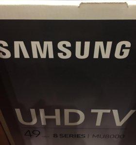 Новый 4K телевизор Samsung UE49MU8000UX