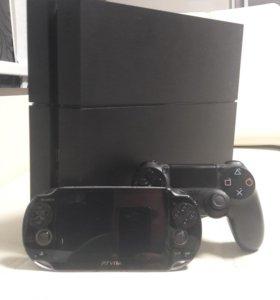 PlayStation 4+Vita