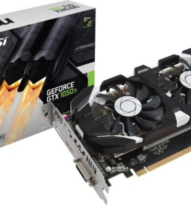 Видеокарта MSI GeForce 1050TI
