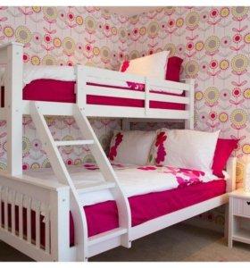 НОВАЯ двухъярусная кровать Мальм